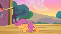 Scootaloo feeling depressed S4E05