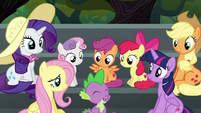 Spike --almost as excited as Pinkie Pie!-- S6E7
