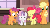 Sweetie Belle 'I'm just so excited' S3E4