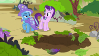 Trixie -you're just trying to scare me- S7E17