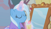 Trixie drinking from a cup S1E6
