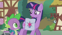 Twilight --worried what she could be up to-- S5E25