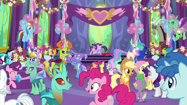 File:Twilight and Starlight hug surrounded by friends S7E1.png
