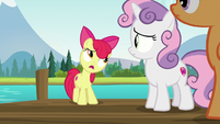 "Apple Bloom ""can't seem to talk any sense"" S7E21"