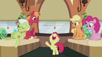 Apple Bloom -the Apples and the Pies do everything the same way!- S5E20
