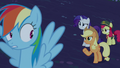 """Applejack """"'any minute now' what?"""" S6E15.png"""