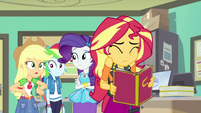 Applejack -the whole school voted for her- EGFF