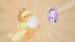 Applejack and Rarity receiving Elements of Harmony S1E2