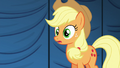 Applejack surprised by director's outburst S6E20.png