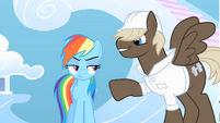 Billy taunts Rainbow Dash S01E16