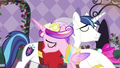 Cadance and Shining Armor slow dancing S2E26.png