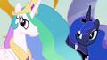 Celestia and Luna smiling at Twilight S4E02.png