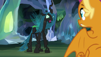 "Chrysalis-Ocellus ""waiting to come out"" S8E22"