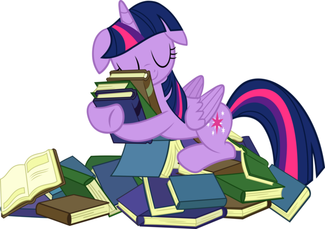 File:FANMADE Twilight with Her Books.png