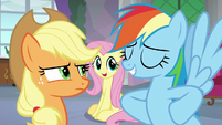"Fluttershy ""lead the field trip together"" S8E9"