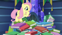 Fluttershy asks Twilight if she's okay S7E20