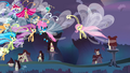 Fluttershy saying goodbye to the Breezies S4E16.png