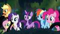 Main ponies find A.K. Yearling's house S4E04.png