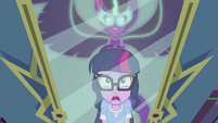 Midnight Sparkle appears behind Twilight EG4