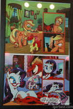 My Little Pony comic issue 1 page 4 at My Little Pony Project 2012 New York