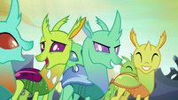 Other changelings agree with goofy changeling S7E1