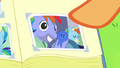 Photo of Bow Hothoof and sleeping Rainbow S7E7.png
