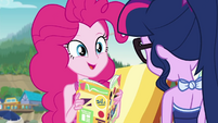 "Pinkie Pie ""refill the snack machines"" EGDS21"