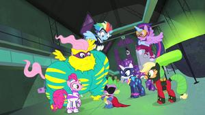 Power Ponies salvando o dia T4E06