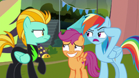 "Rainbow ""or should I say, lack of brains!"" S8E20"