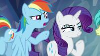 "Rainbow Dash ""where your loyalty lies"" S8E22"