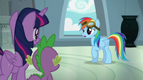 Rainbow Dash --you're right!-- S6E7