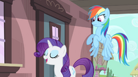 Rarity 'I think it sounds delightful' S4E11