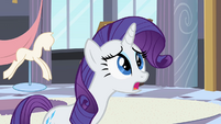Rarity talking to the Princess S2E9