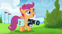 "Scootaloo ""I can't believe I'm documenting"" S7E7"
