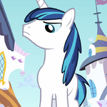 Shining Armor looking sternly S2E25