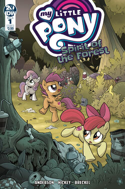 Spirit of the Forest issue 1 cover A