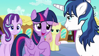 Twilight --didn't know you were meeting us-- S6E1