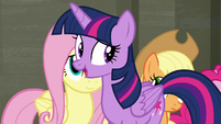 "Twilight Sparkle ""solve the problem your way"" S6E9"