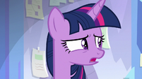 "Twilight Sparkle ""what kind of princess"" S9E25"