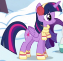 Twilight Sparkle winter clothes ID S5E5