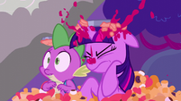 Twilight gets hit by a pie S5E26