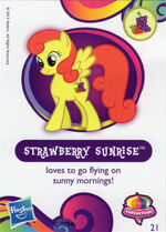 Wave 10 Strawberry Sunrise collector card