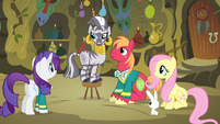 Zecora 'I can cure this pony that is hoarse' S4E14