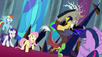 Discord gets struck by Sombra's magic S9E2