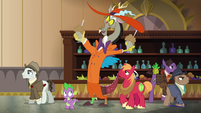 Discord offers Spike and Mac milkshakes S6E17