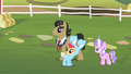 Filthy Rich, Apple Bloom and Diamond Tiara S2E12.png
