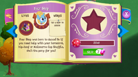 Four Step album page MLP mobile game