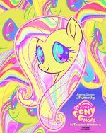 "MLP The Movie Fluttershy ""8weeks"" poster"