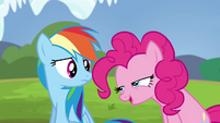 Pinkie -other ponies learn through musical intervention- S4E21