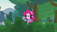 Pinkie Pie operating a boom mic EG3